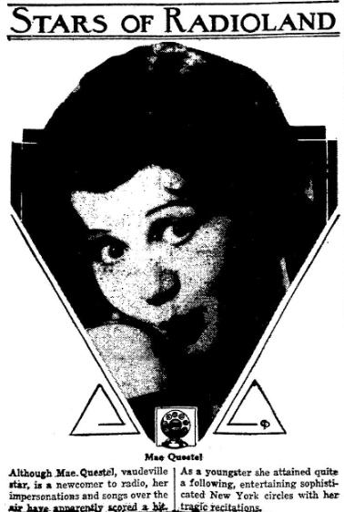 April 1931 Mae Questel Helen Kane