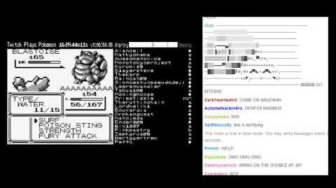 Twitch Plays Pokemon - Twitch VS Blue (FINAL BATTLE) Ending