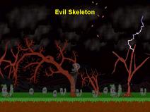 640x480 Evil Skeleton