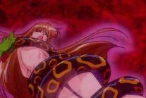 Minako dragged in Hell