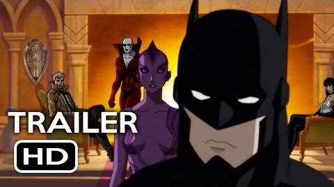 Justice League Dark Official Trailer 1 (2017) Animated DC Superhero Movie HD