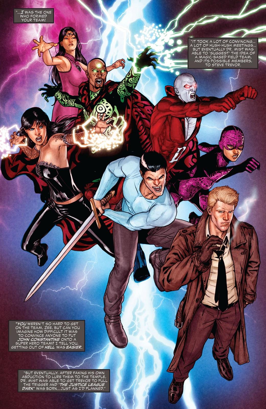 Justice League Dark John Constantine Hellblazer Wiki