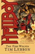 Hellboy - The Fire Wolves (Novel Cover)