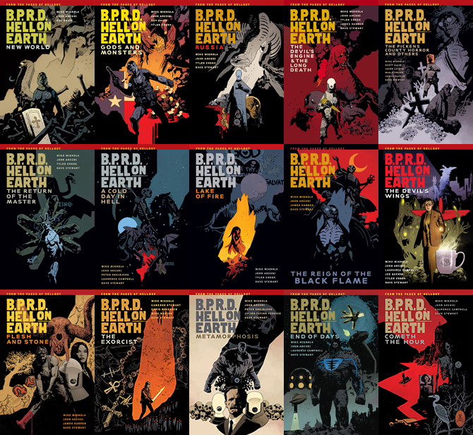 BPRD Hell on Earth Trade Collections