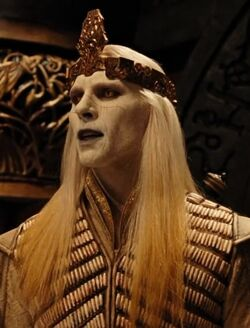 Prince Nuada with a crown