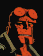 Hellboy huvud
