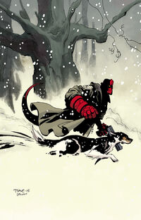 Hellboy Winter Special (Tim Sale cover)
