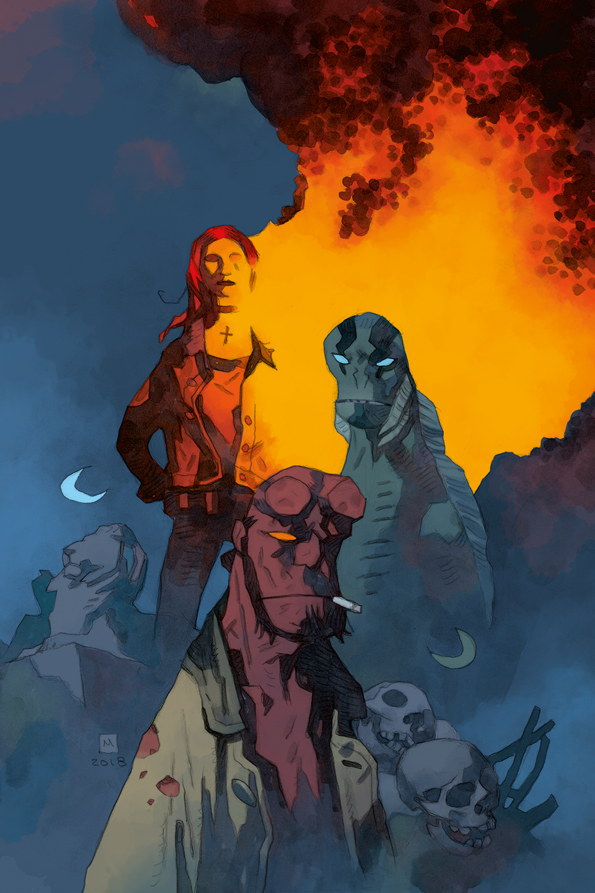 bab3795794fca Ragna Rok (story arc) | Hellboy Wiki | FANDOM powered by Wikia