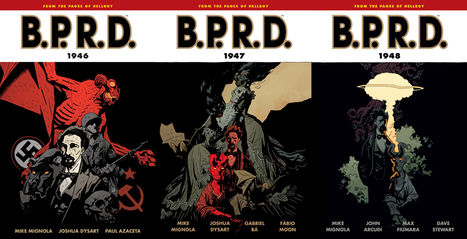BPRD 1940s Trade Collections