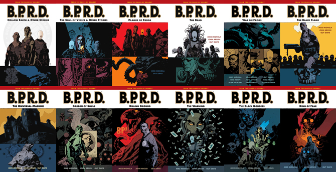BPRD Plague of Frogs Trade Collections