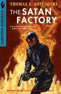 Lobster Johnson - The Satan Factory (Novel Cover)