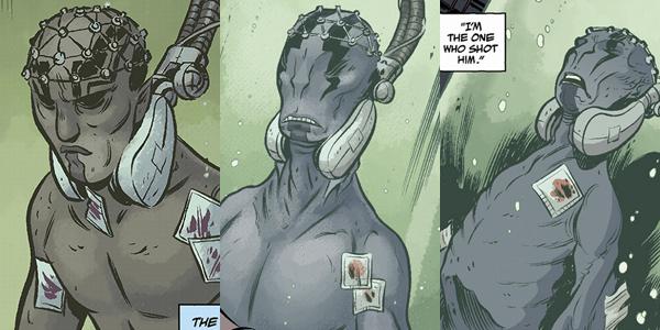 Hellboy Abe Sapien Comic