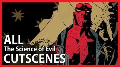 Hellboy The Science of Evil - All PSP Cutscenes (Game Movie - 1080p HD)