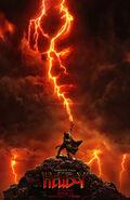 Hellboy 2019 Lightning Poster