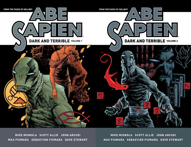 Abe Sapien - Dark and Terrible Omnibuses