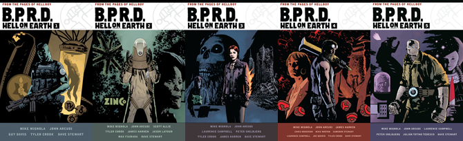 BPRD Hell on Earth Omnibuses