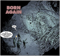 Born Again - title panel