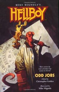 Hellboy - Odd Jobs (Novel Cover)