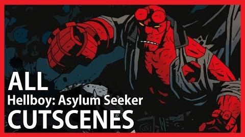 Hellboy Asylum Seeker - All Cutscenes (Game Movie - 1080p)