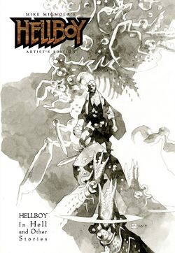 Hellboy Artist's Edition - 2nd Edition cover