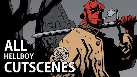 Hellboy The Science of Evil - All Cutscenes (Video Game Movie - 1080p HD)