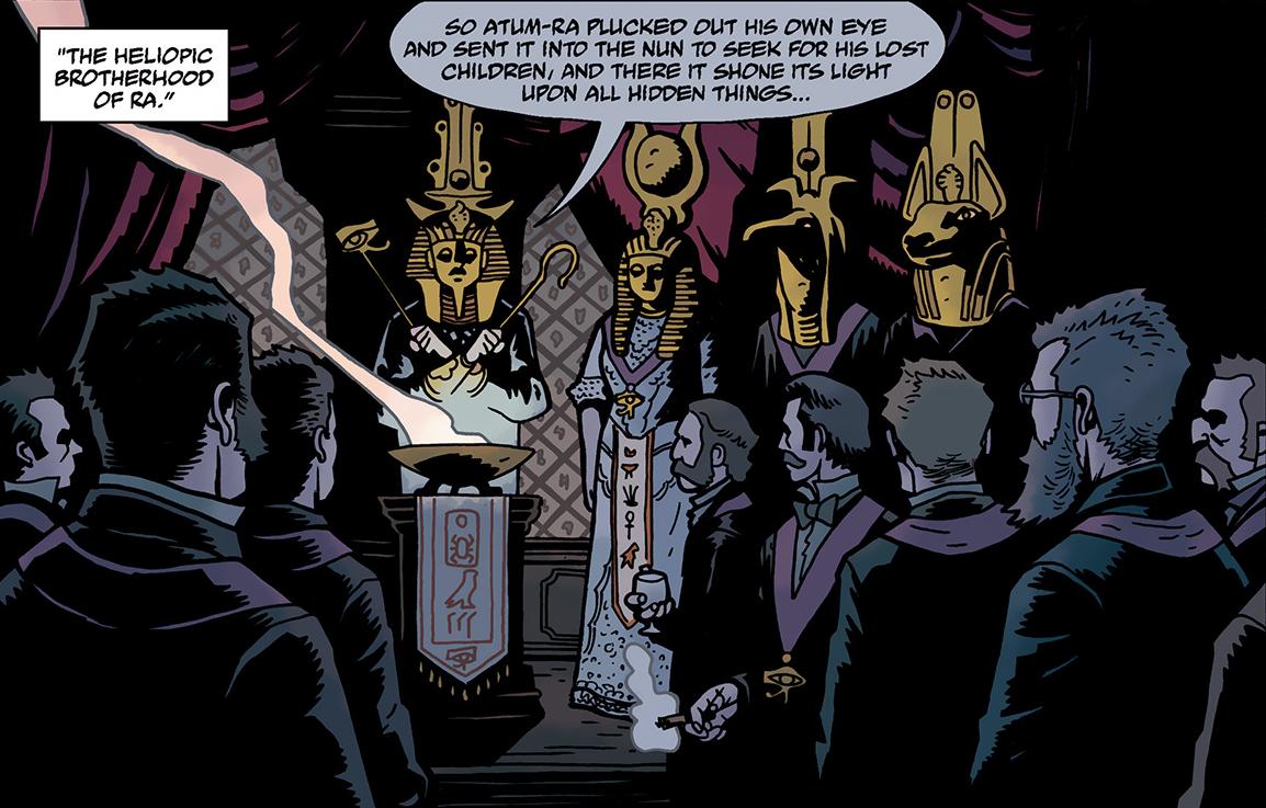 Heliopic Brotherhood of Ra | Hellboy Wiki | FANDOM powered