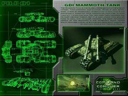 Mammoth Tank Blueprints