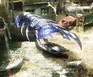 Scrin Devastator Warship