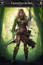 Forest Fae Archer 3