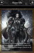 Slayer Ella - Lore