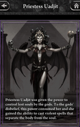 Priestess Uadjit - Lore