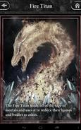 Fire Titan Lore