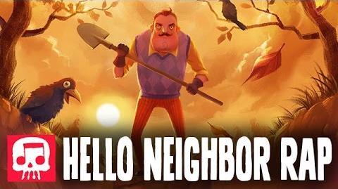 "HELLO NEIGHBOR RAP by JT Machinima - ""Hello and Goodbye""-0"
