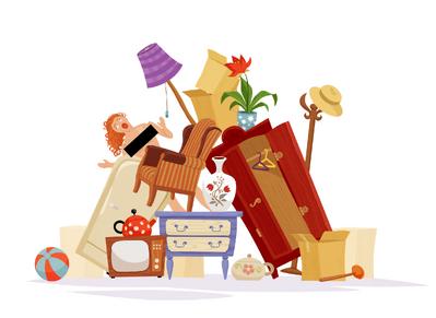 Офиальный рисунок с предметами
