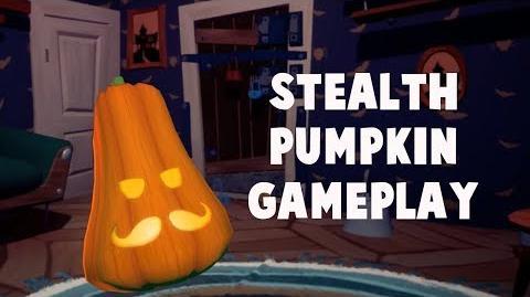 The Pumpkin is a Lie - Secret Neighbor Gameplay