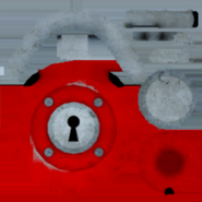 Текстура красного замка