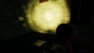 Новый фонарик в действии