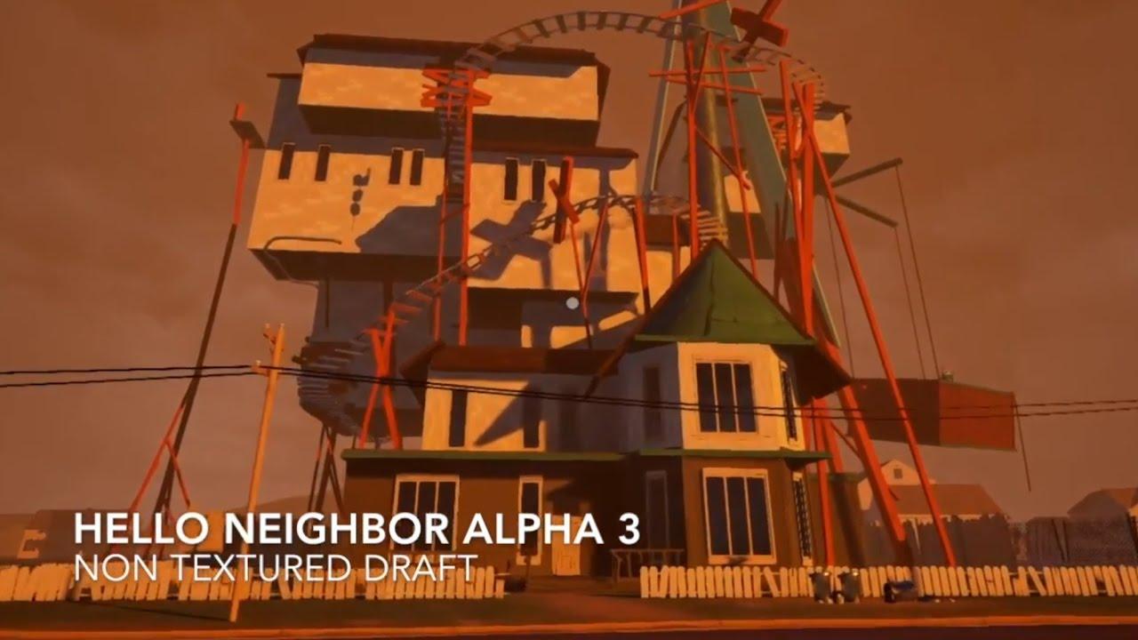 hello neighbor alpha 3 консоль