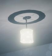 Цилиндрическая люстра в Секретном Соседе