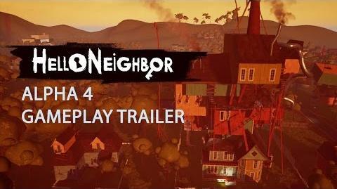 Hello Neighbor Alpha 4 Gameplay Trailer 4K