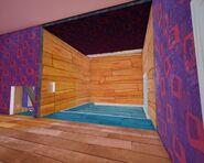 Вид на комнату с картинами из поздравительной комнаты (Бета 3)