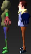 Модели соседа и игрока