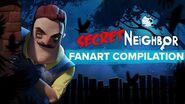 Secret Neighbor Fan Art Compilation