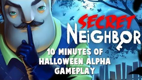 Secret Neighbor - 10 Minutes Halloween Alpha Gameplay Rus-0