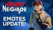 Secret Neighbor - Emotes Update