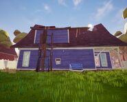 Дом Соседа из Акта 1 сзади