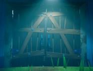 Двери сарая из SN