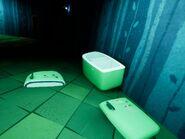 Детали холодильника в подвале Акта 3