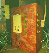 Панель управления лифтом