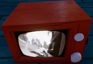 Альфа 2 включенный телевизор